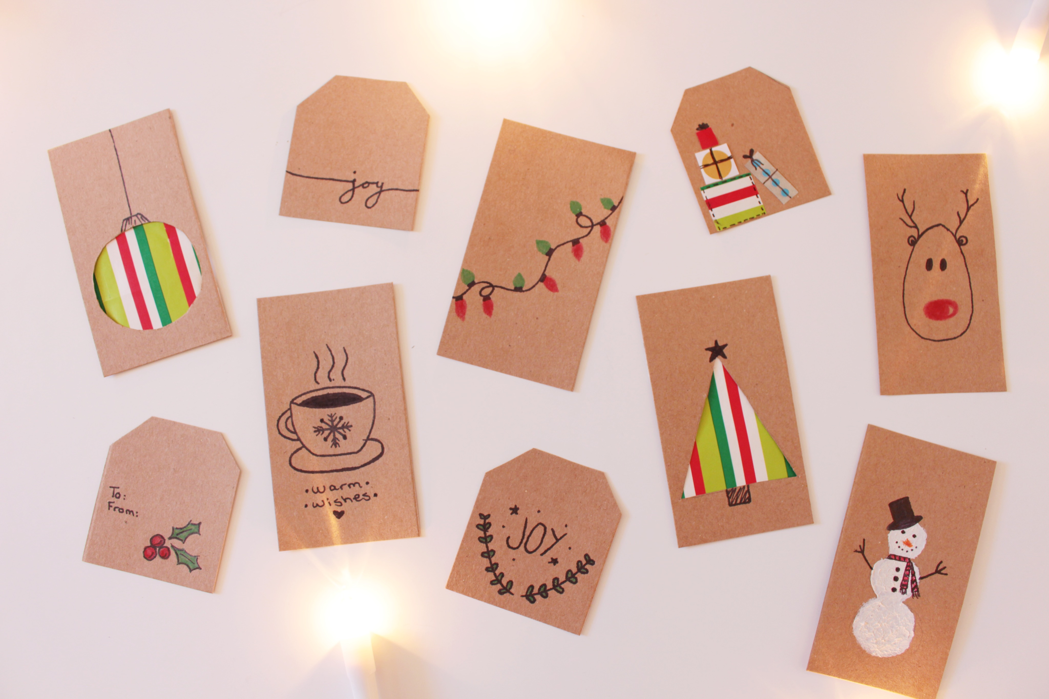 Diy Christmas Gift Tags Blogmas Day 10 Sophie Maie
